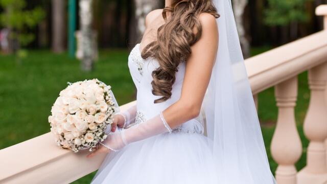 ドレスに負けない花嫁